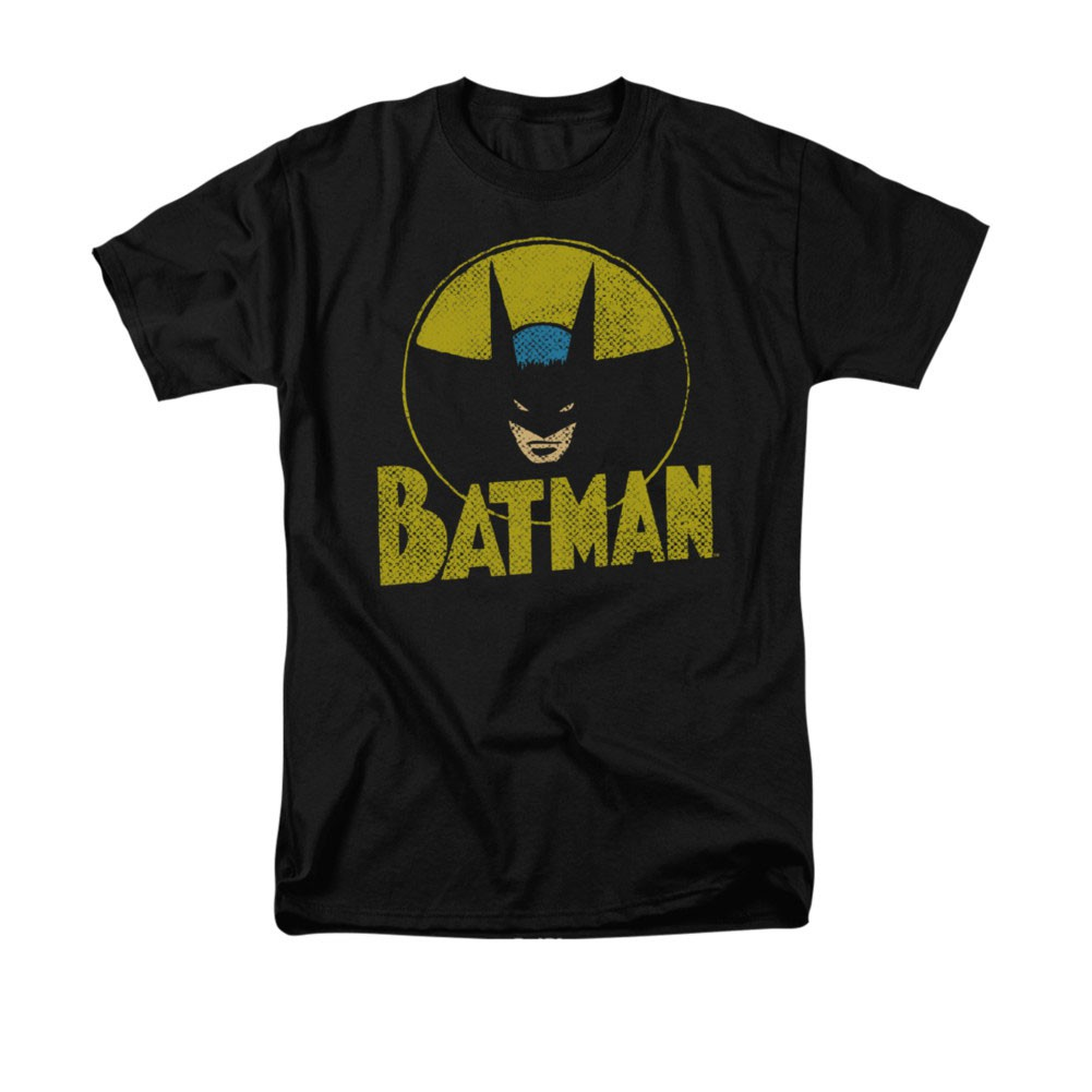 Batman Men's DC Circle Black Tee Shirt