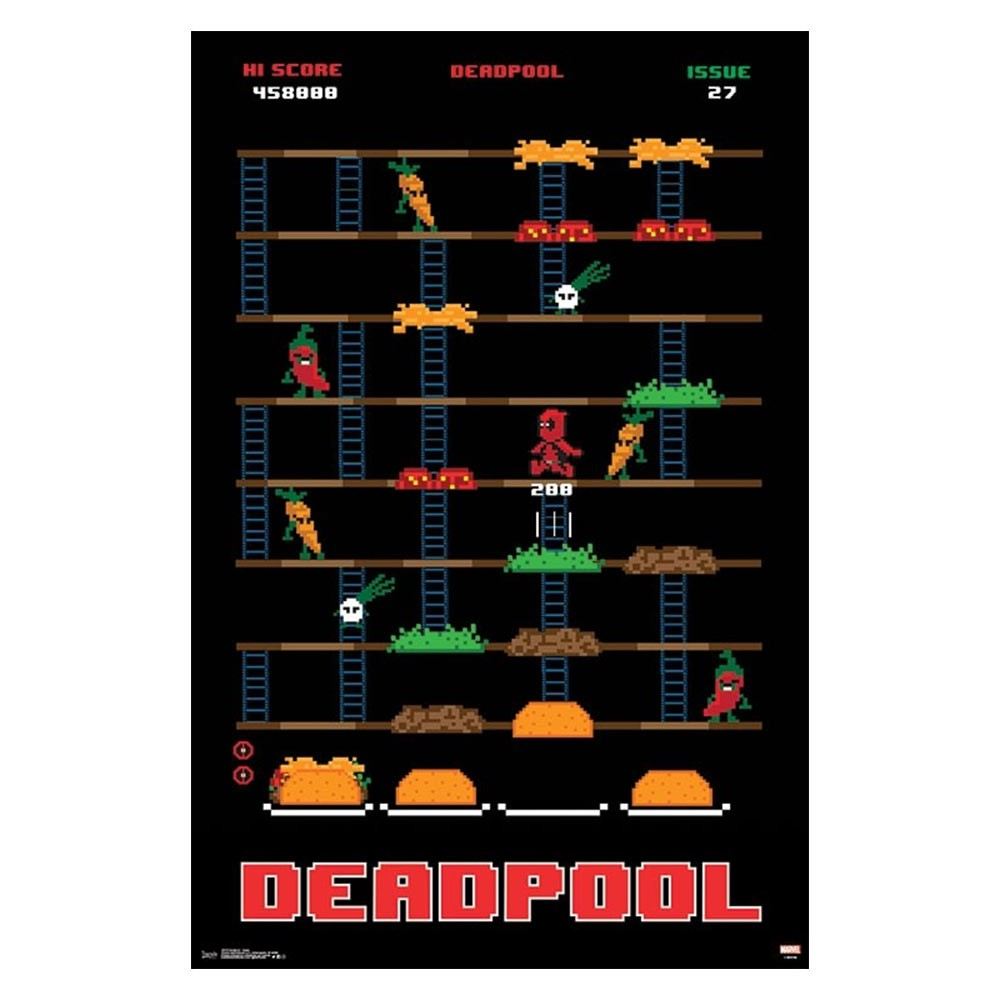 Deadpool Game 23 x 34 Poster