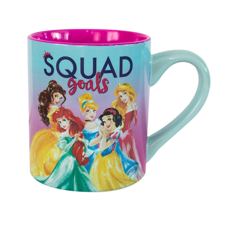 Disney Princesses Squad Goals Ceramic Coffee Mug