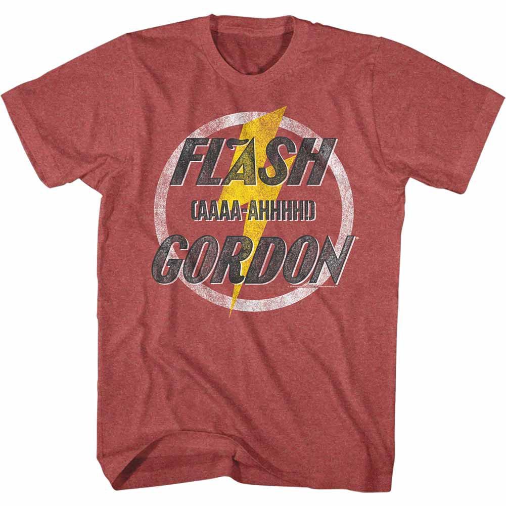 Flash Gordon Aaaa-Ahhhhh Mens Red T-Shirt