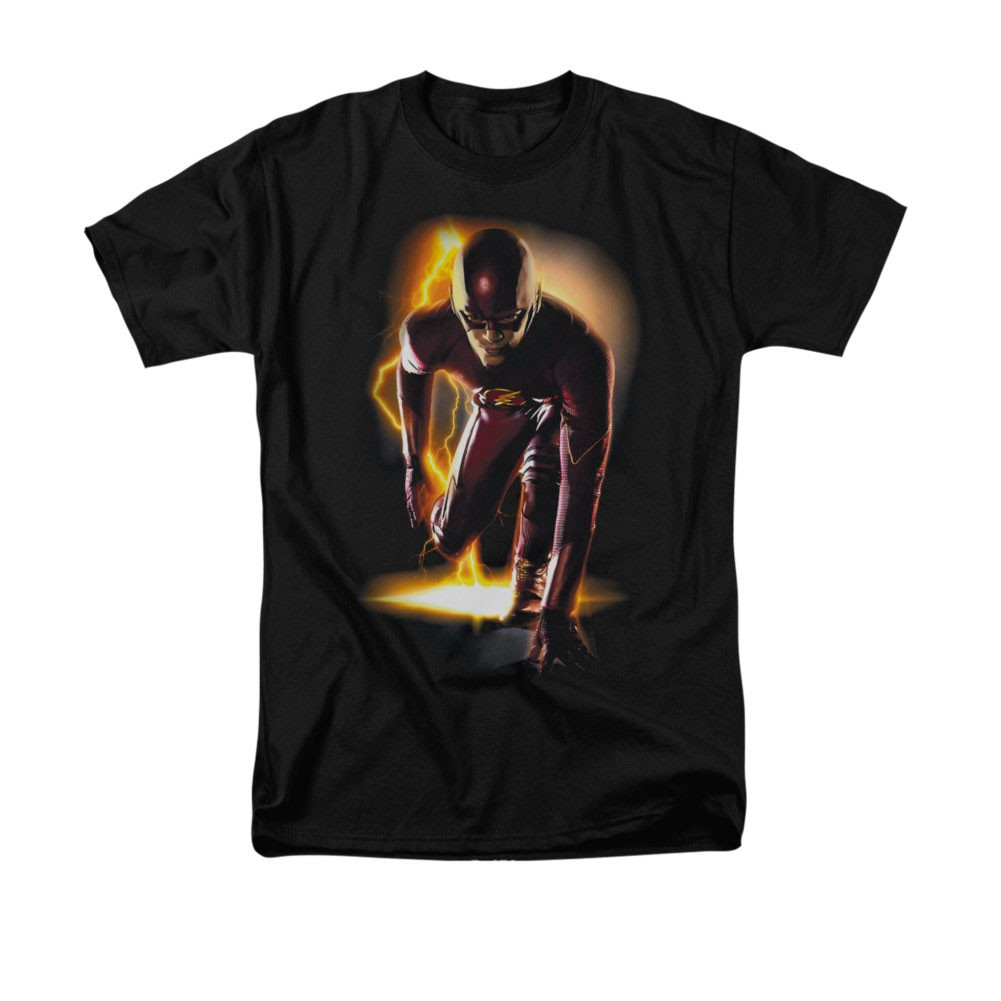 The Flash Ready Black T-Shirt