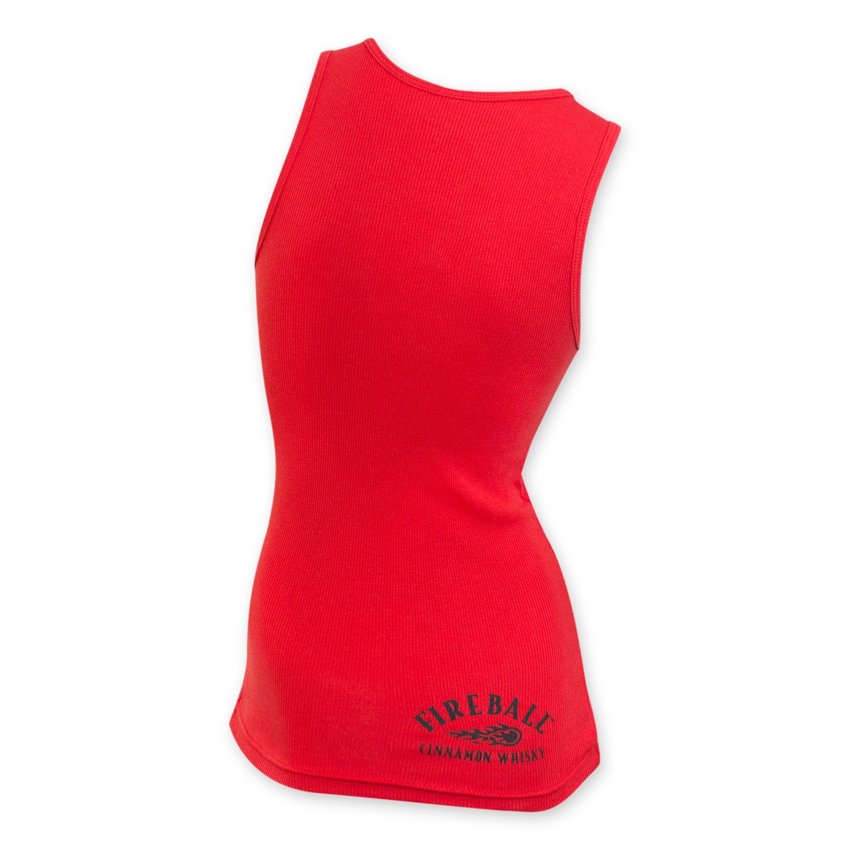 Fireball Cinnamon Whisky Women's Red Tank Top