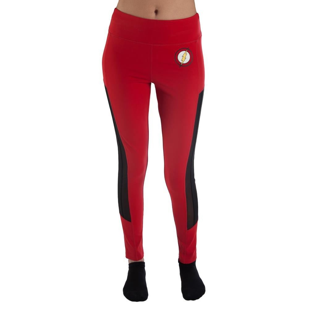 The Flash Active Workout Red Leggings