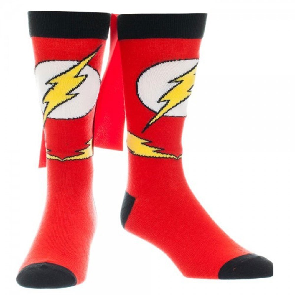 Flash Caped Red Socks