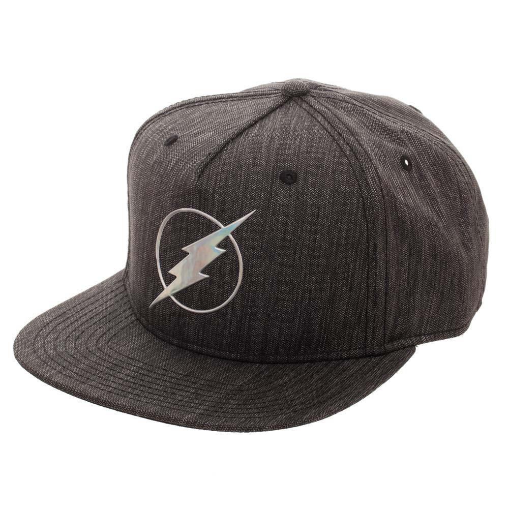 The Flash Iridescent Grey Snapback Hat