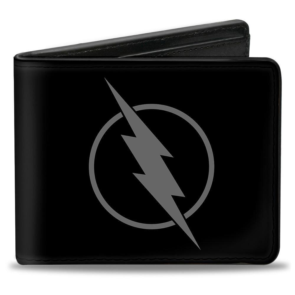 The Flash Reverse Logo Black Bifold Wallet