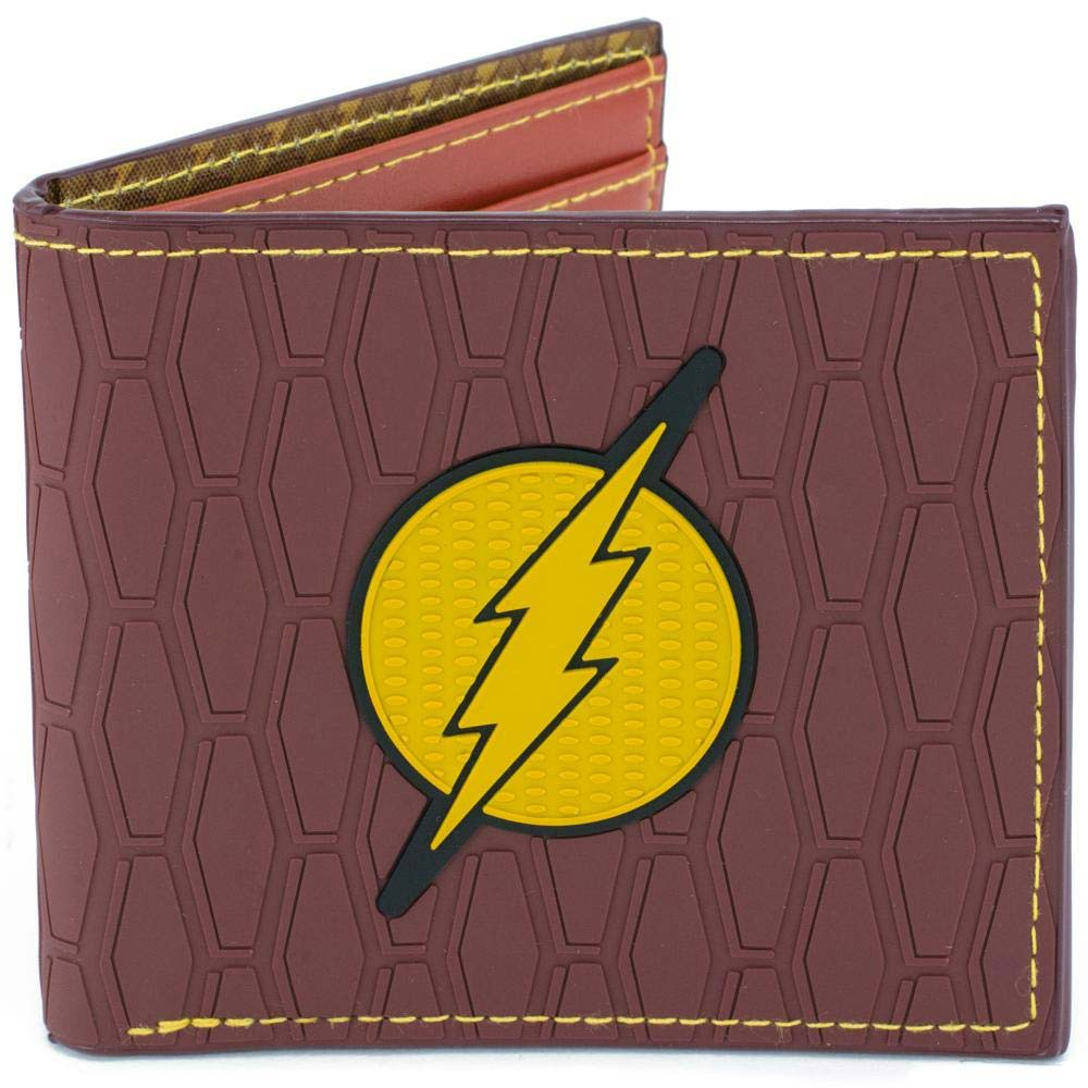 The Flash Logo Red Bifold Wallet