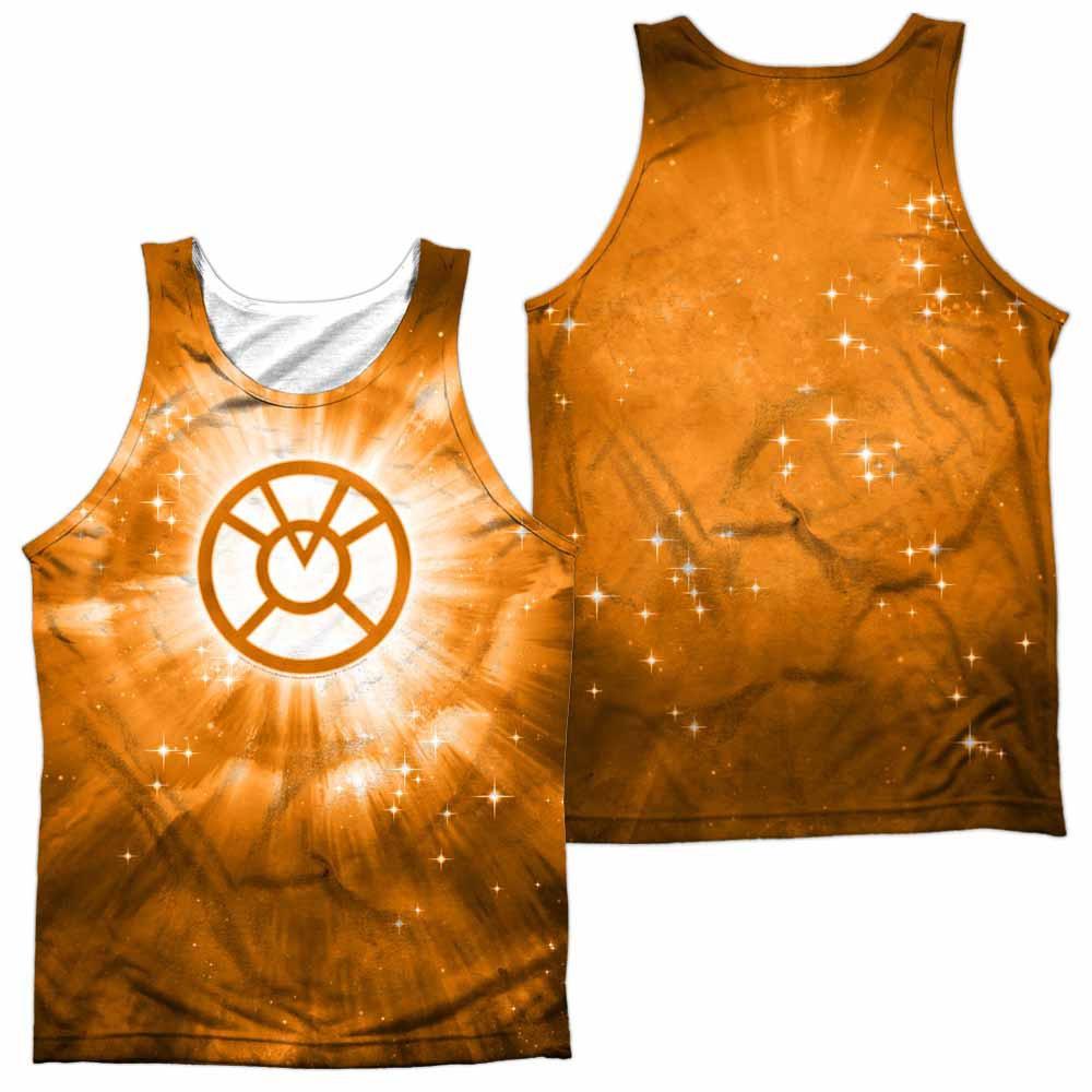 Green Lantern Orange Energy Sublimation Tank Top
