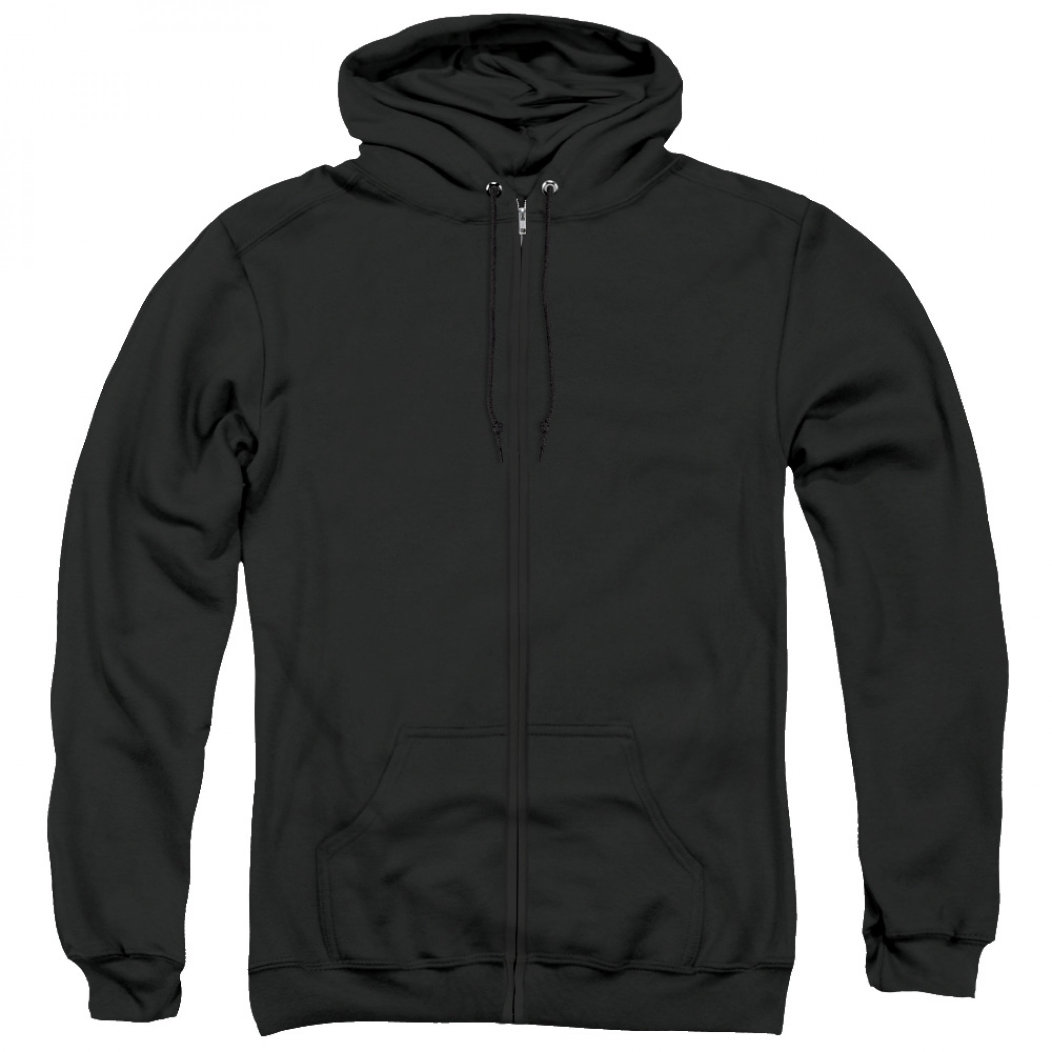Green Lantern Men's Black Zip-Up Hoodie