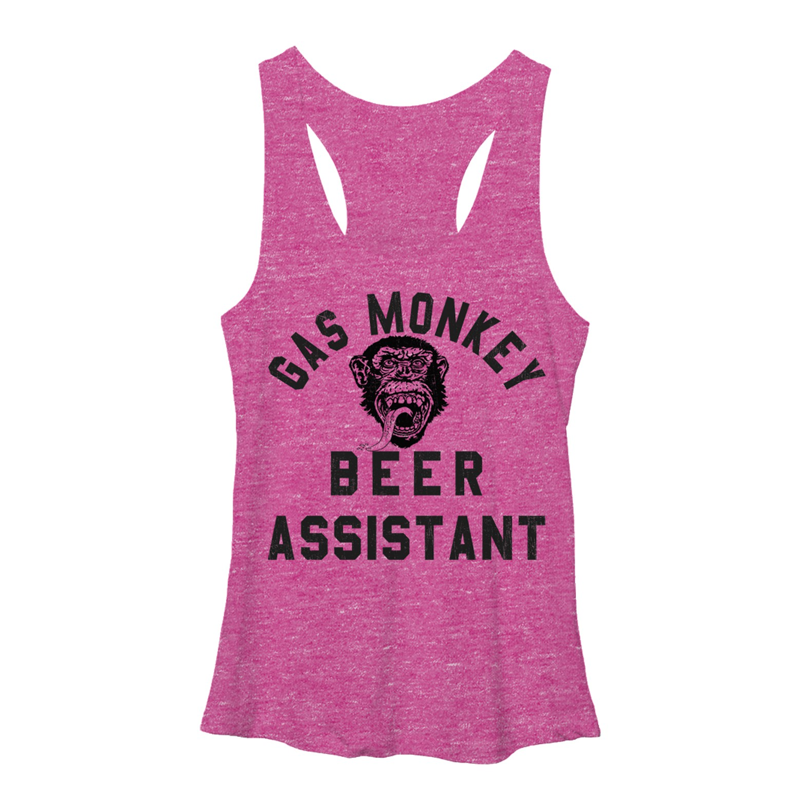 Gas Monkey Garage Beer Assistant Pink Juniors Tank Top