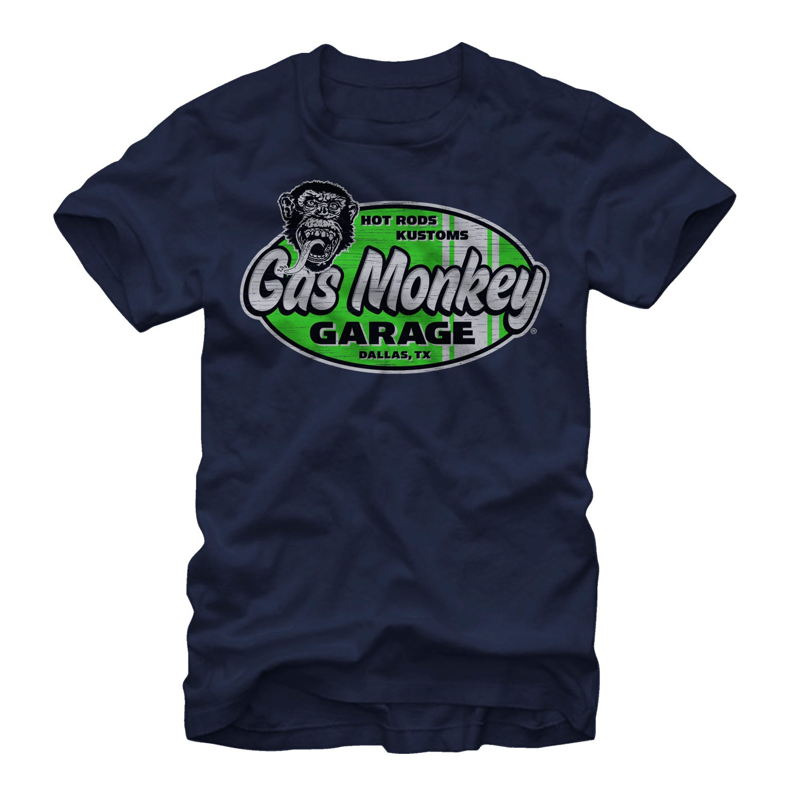 Gas Monkey Surf and Turf Black T-Shirt