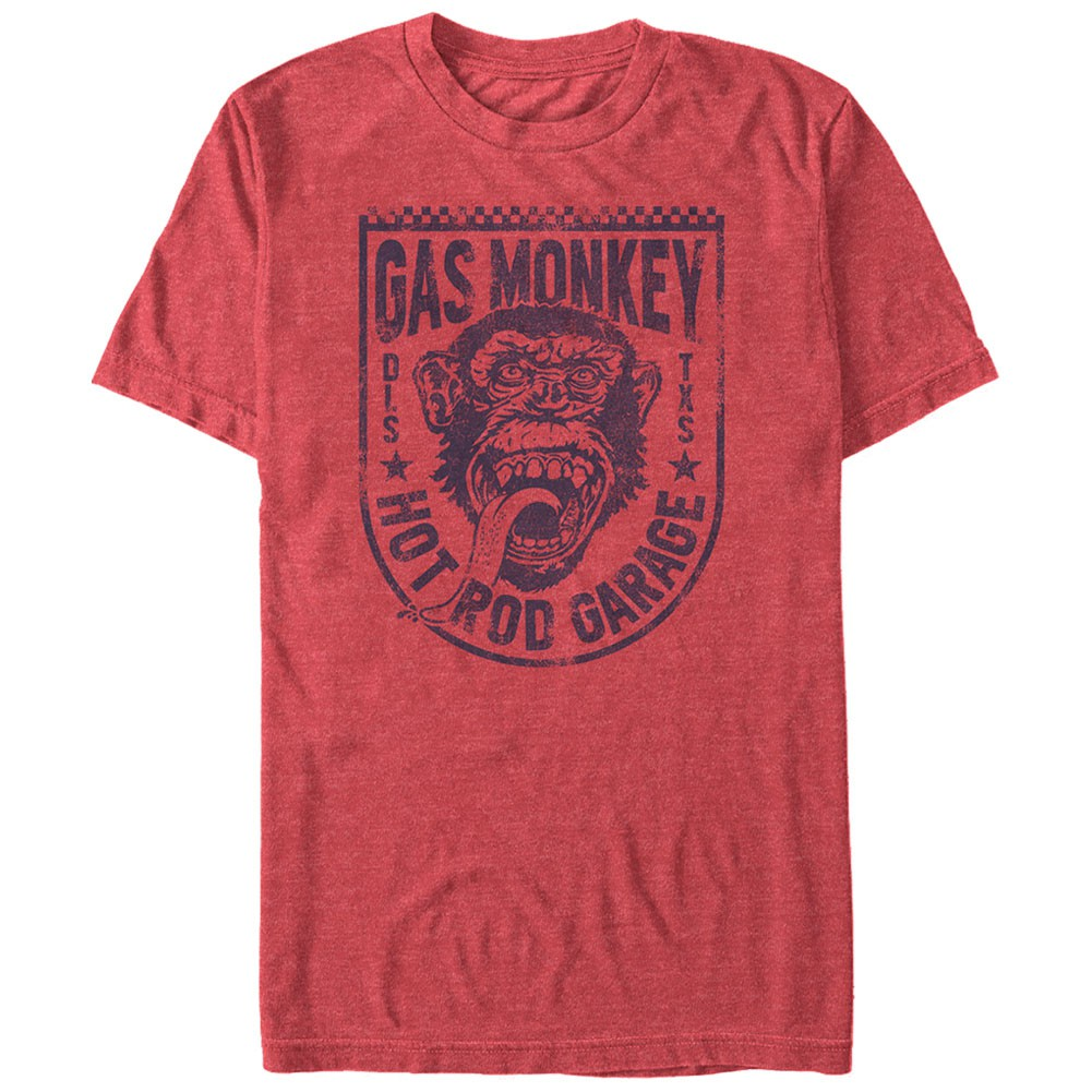 Gas Monkey Garage Glory Bound Red T-Shirt