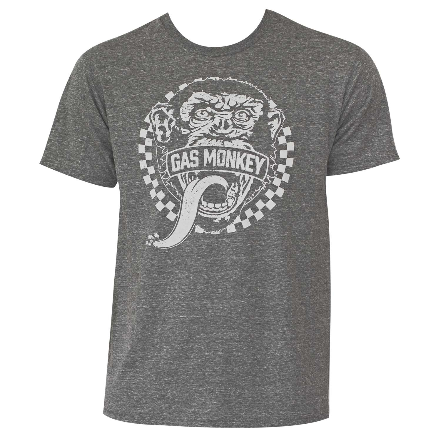 Gas Monkey Men's Grey Tee Shirt