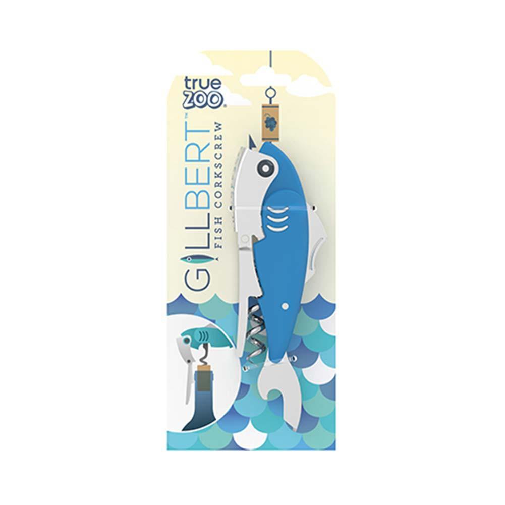Gillbert Fish Corkscrew Bottle Opener