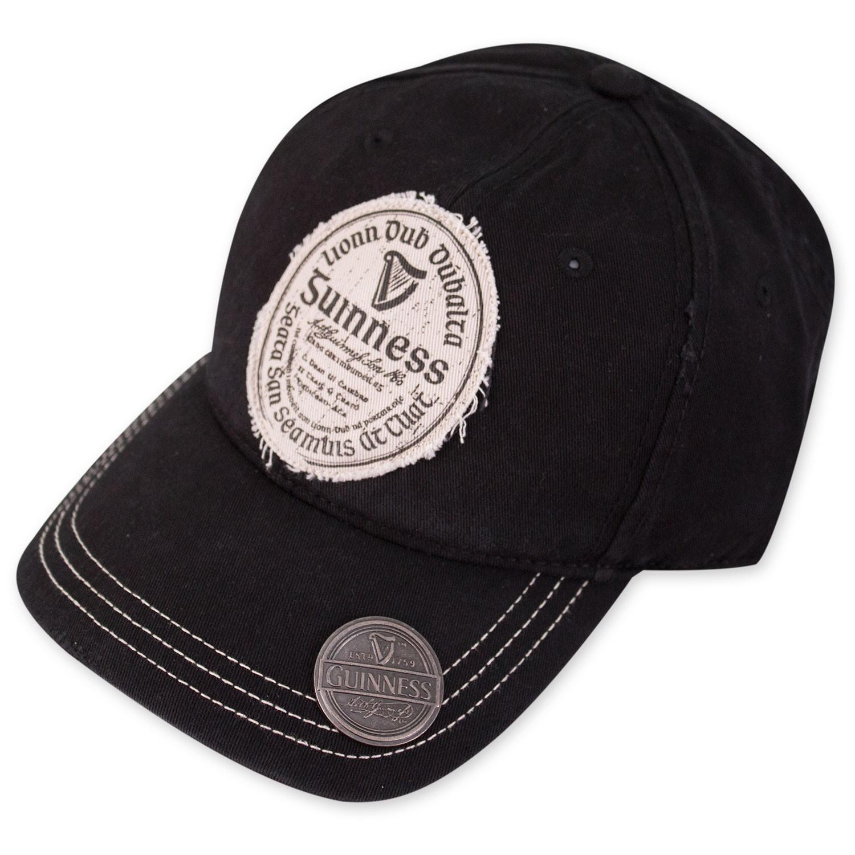 3b2deeec0 Guinness Gaelic Label Black Bottle Opener Hat