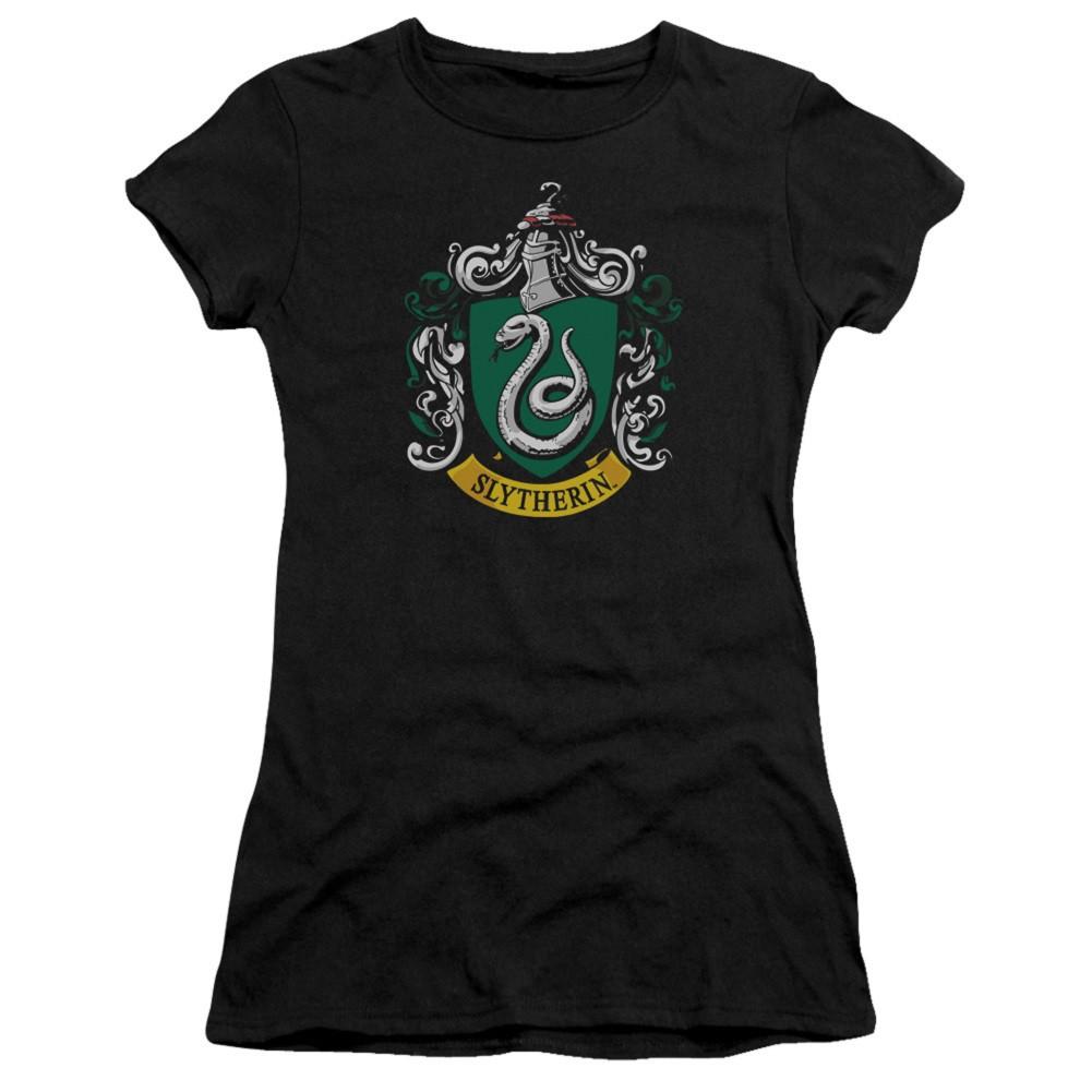 Harry Potter Slytherin Crest Womens Tshirt
