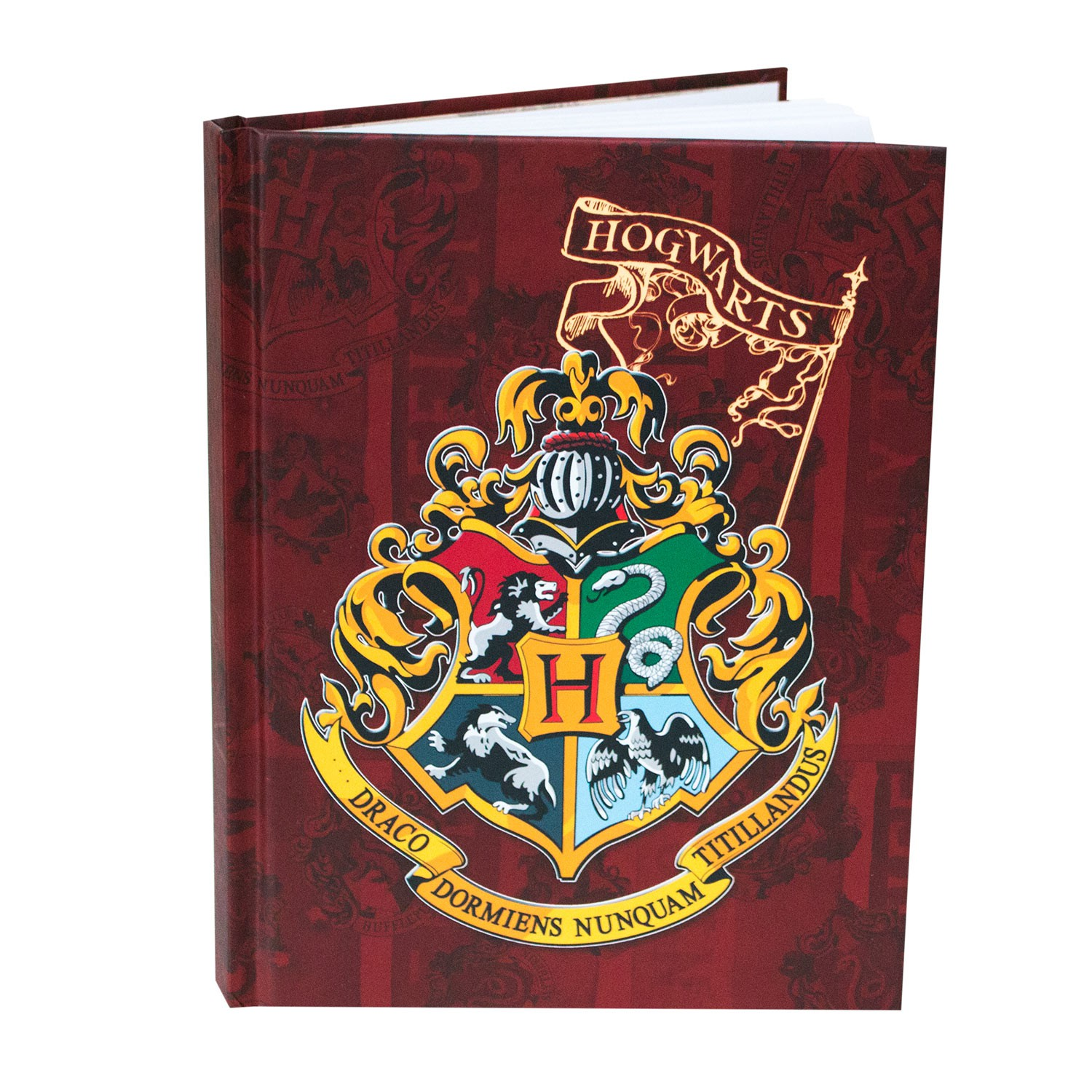 Harry Potter Hogwarts Hard Cover Journal