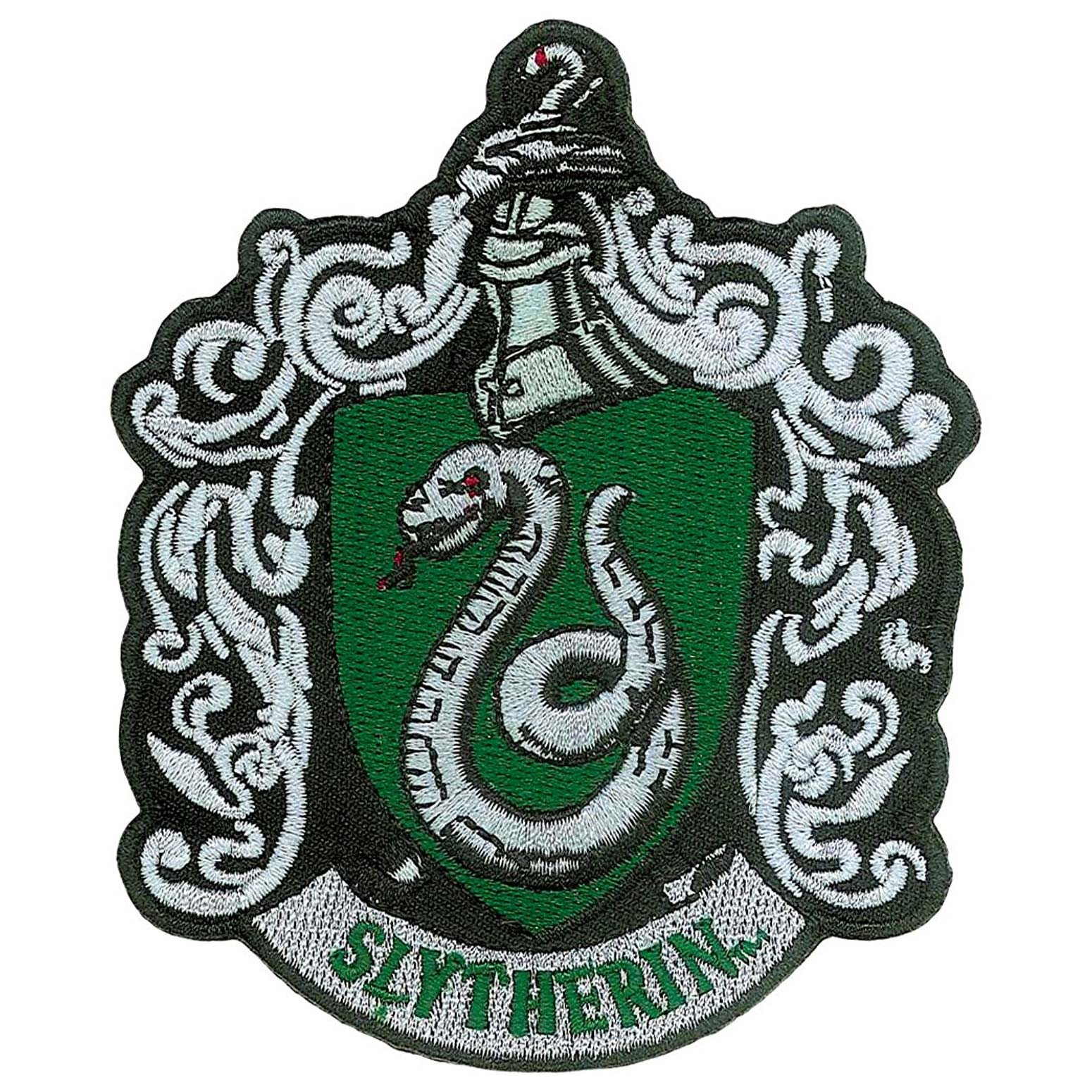 Harry Potter Slytherin Iron On Patch