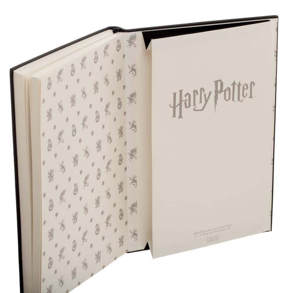 Harry Potter Hogwarts Black Journal