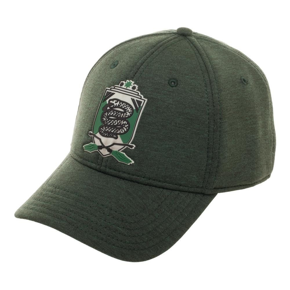 bf3a5b36f Harry Potter Green Slytherin Flexfit Hat