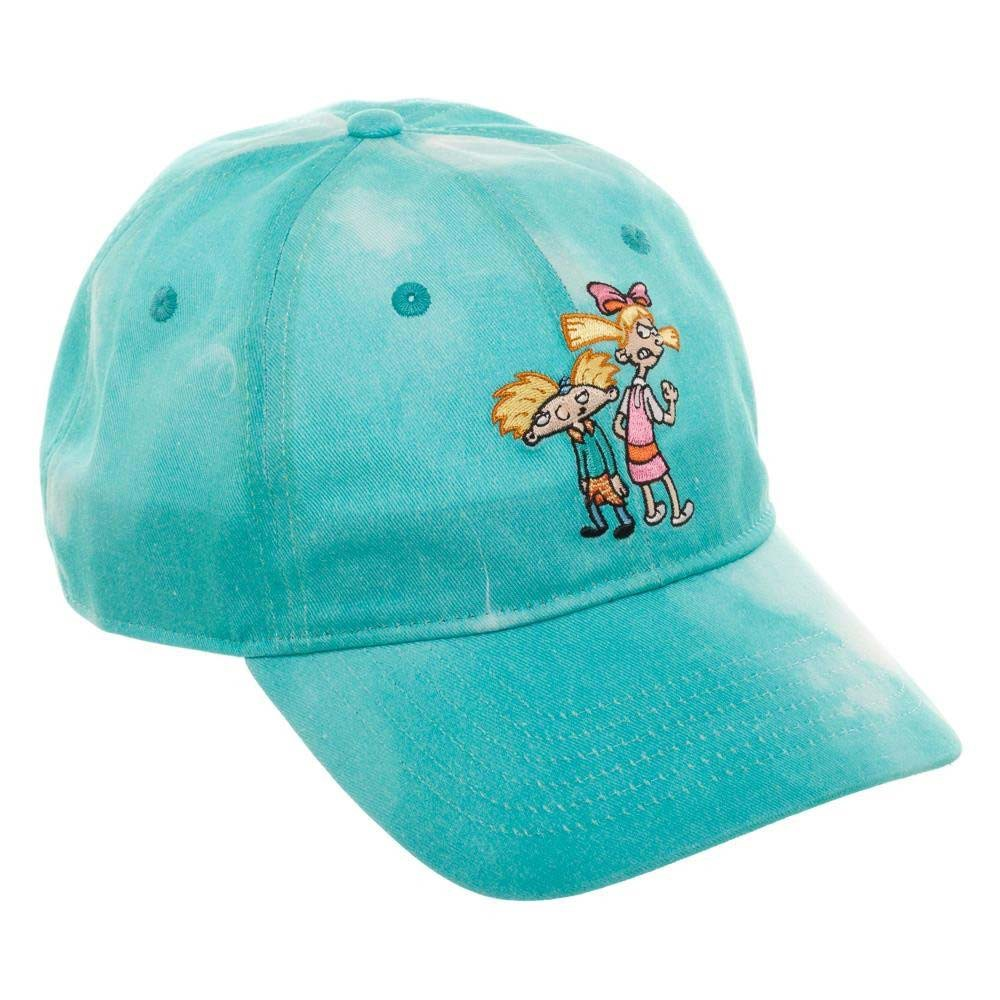 Hey Arnold Helga Blue Tie Dye Dad Hat
