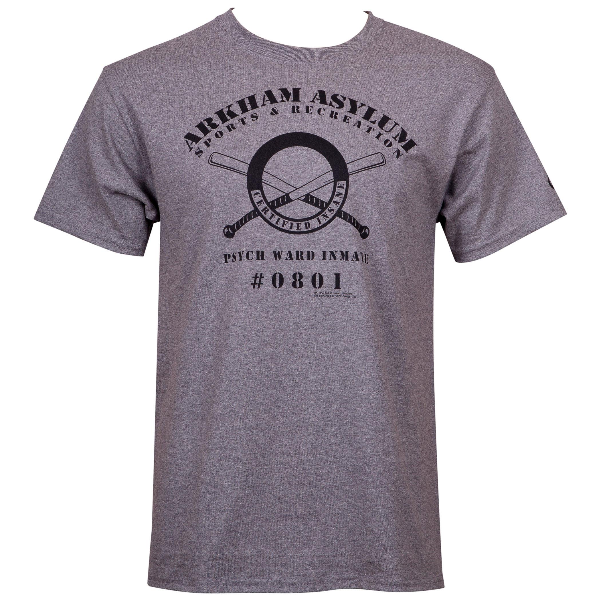 Arkham Asylum Parks and Recreation T-Shirt