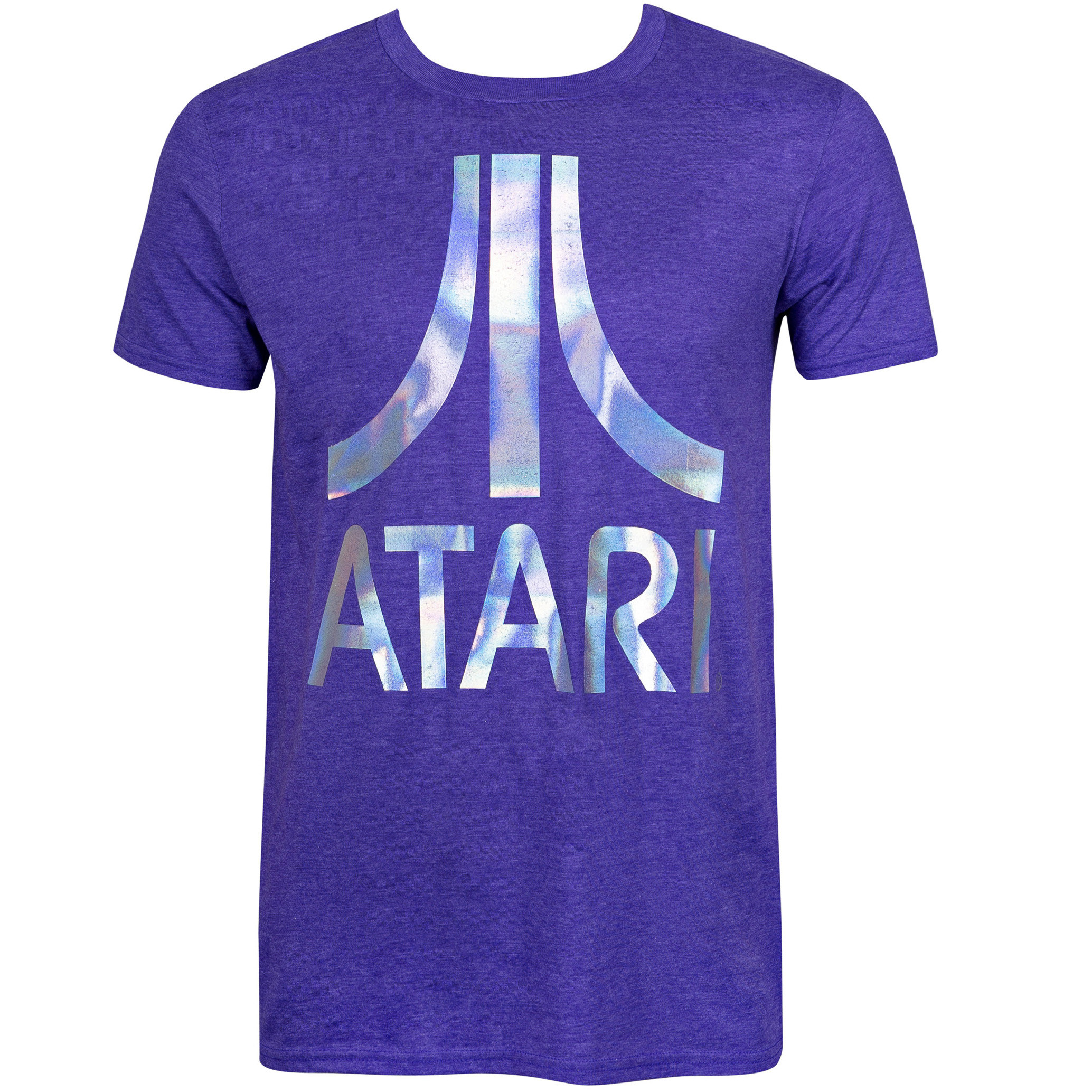 Atari Foil Logo Purple Tee Shirt