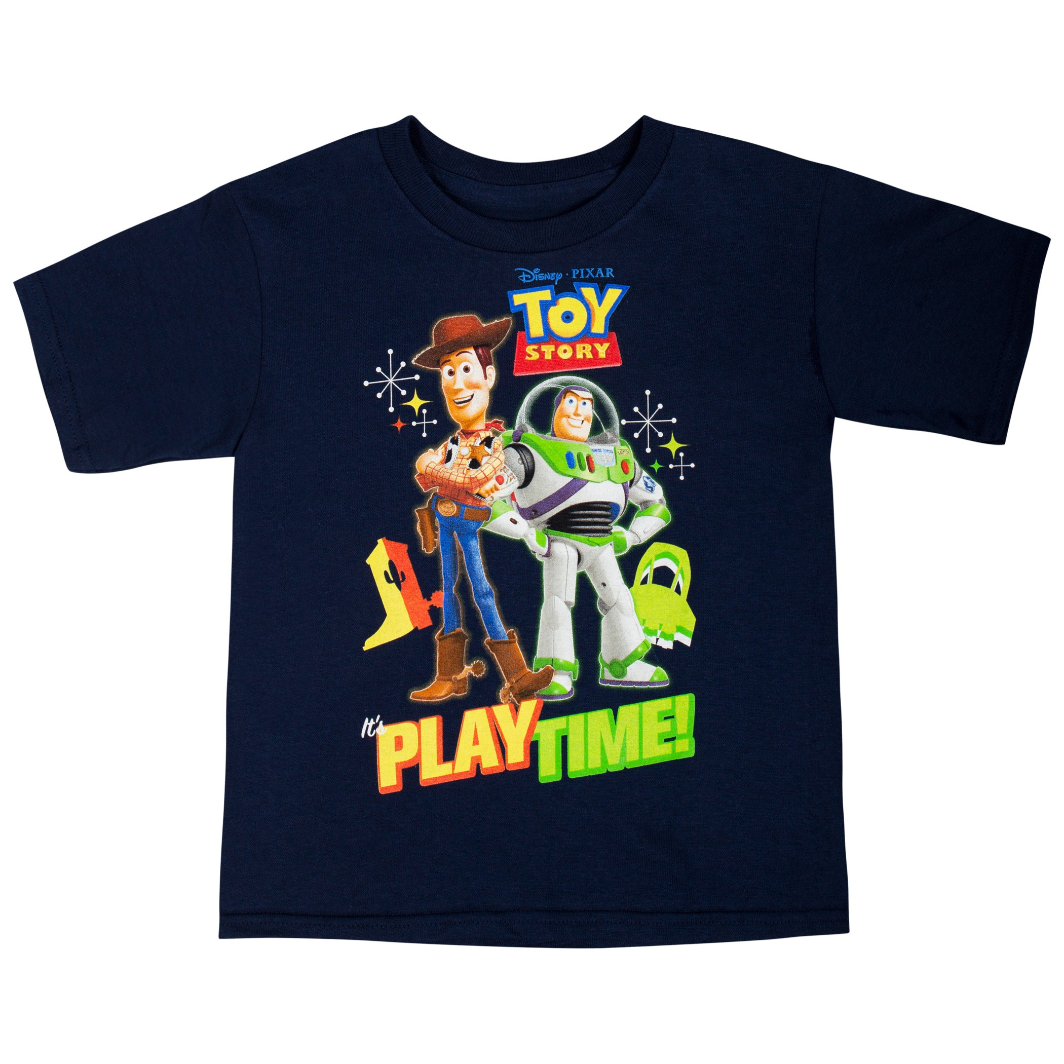 Toy Story Toddlers Play Time Navy Blue Tee Shirt