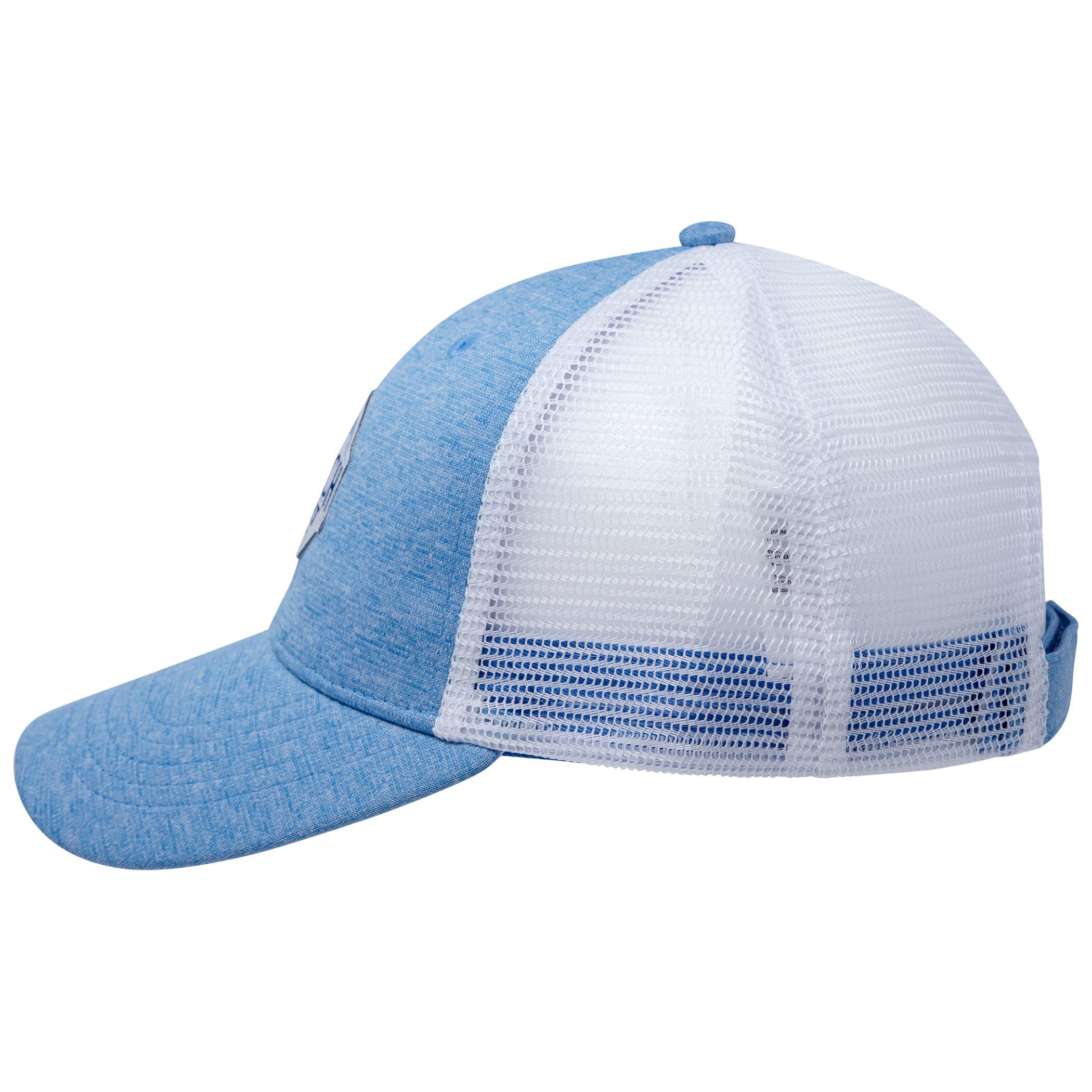 e645a761f Busch Light Heather Blue Trucker Hat