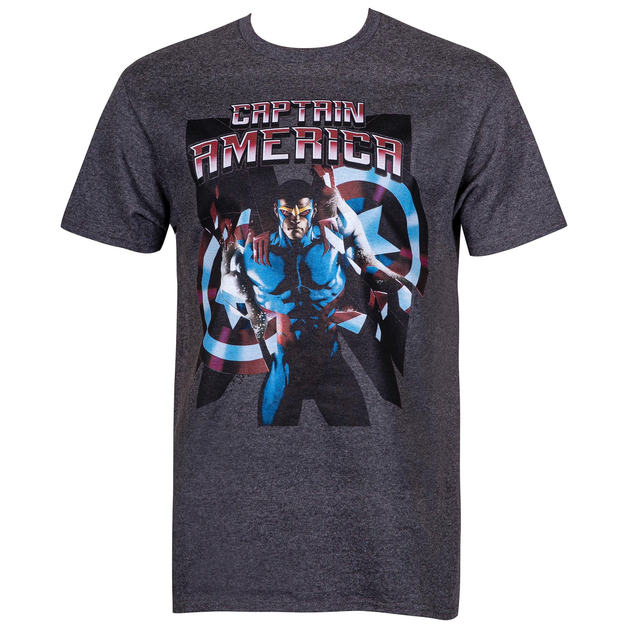 New Captain America Men's T-Shirt