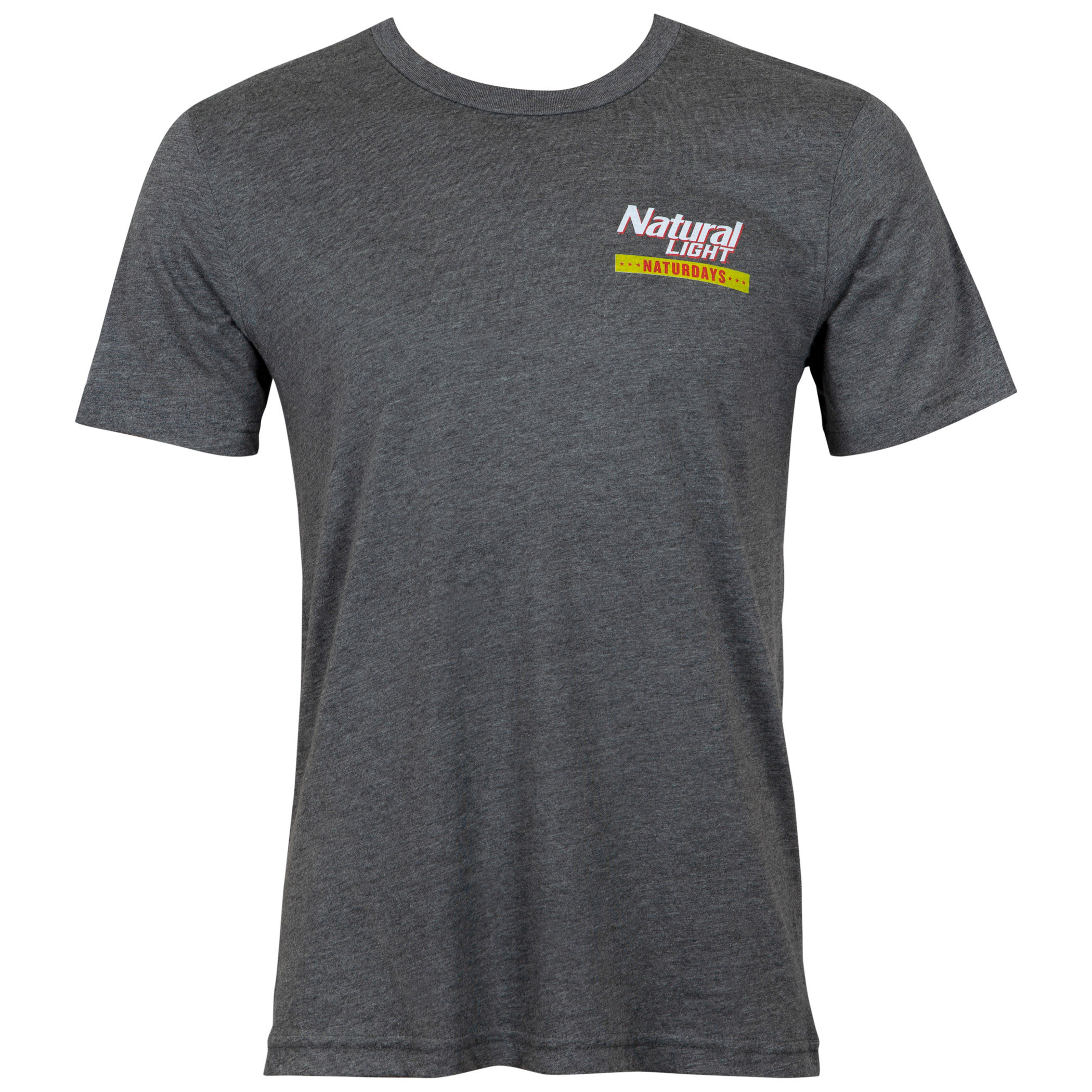 Natty Naturdays Grey Natural Light Men's Tee Shirt