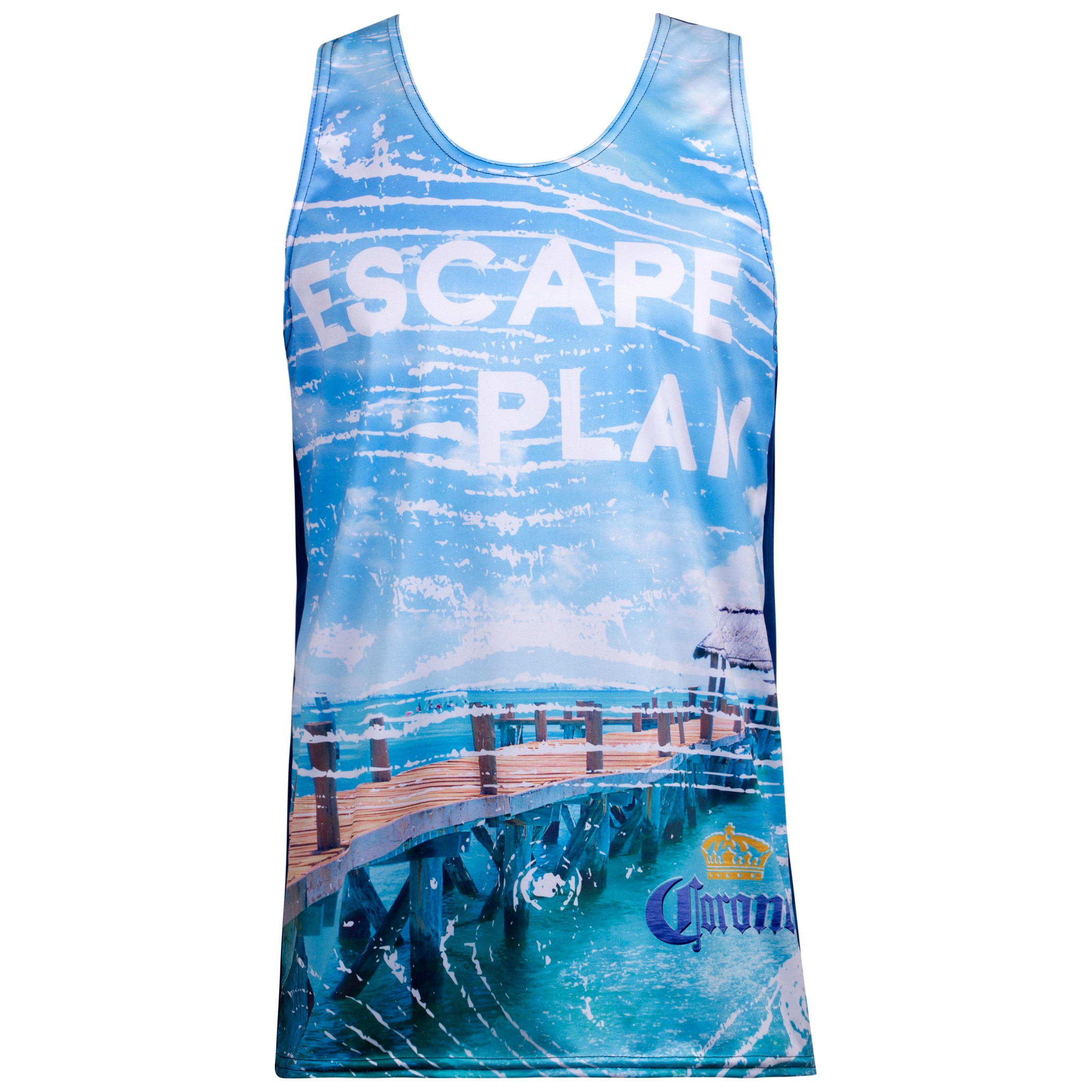 Corona Escape Plan Tank Top