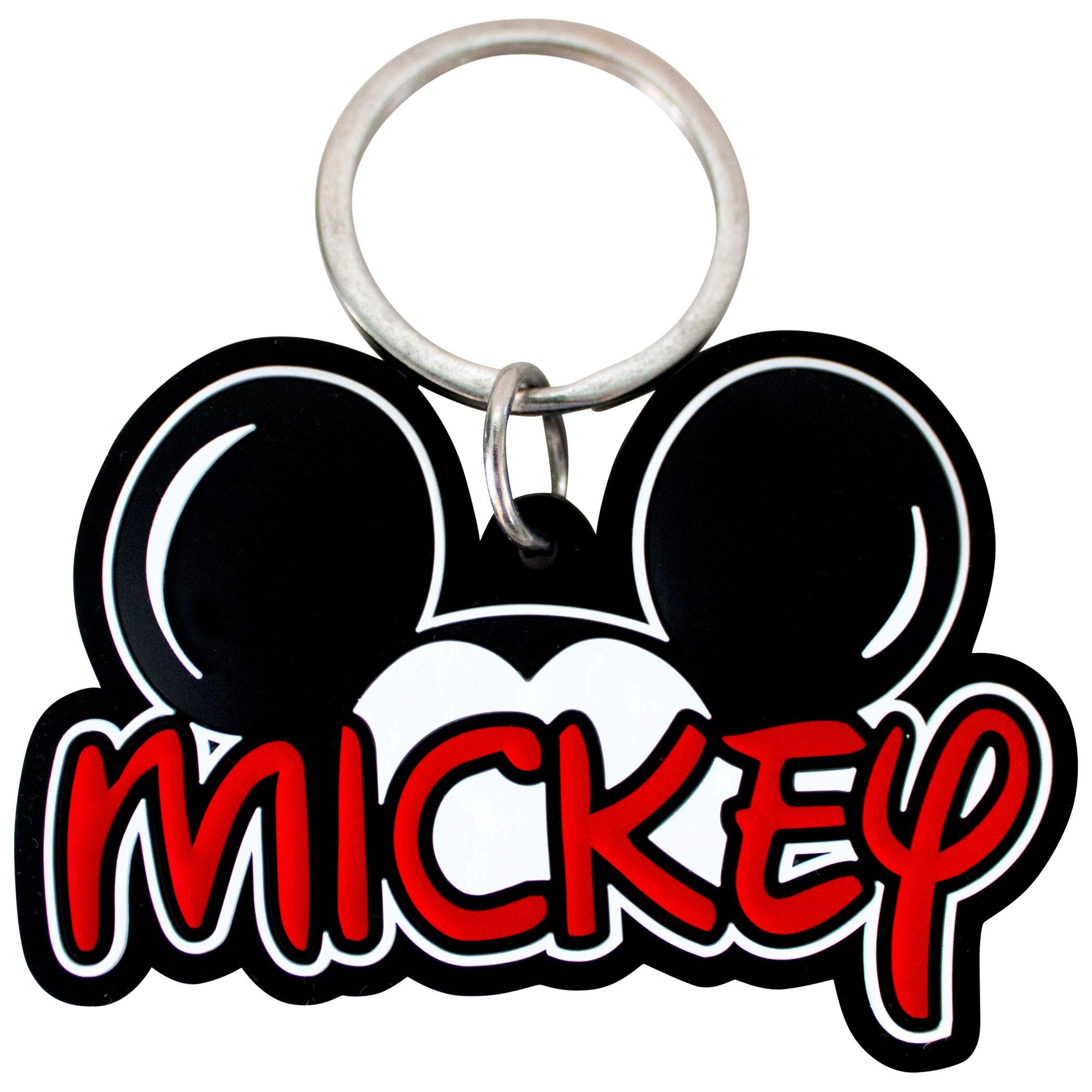 Mickey Mouse Ears Laser Cut Keychain