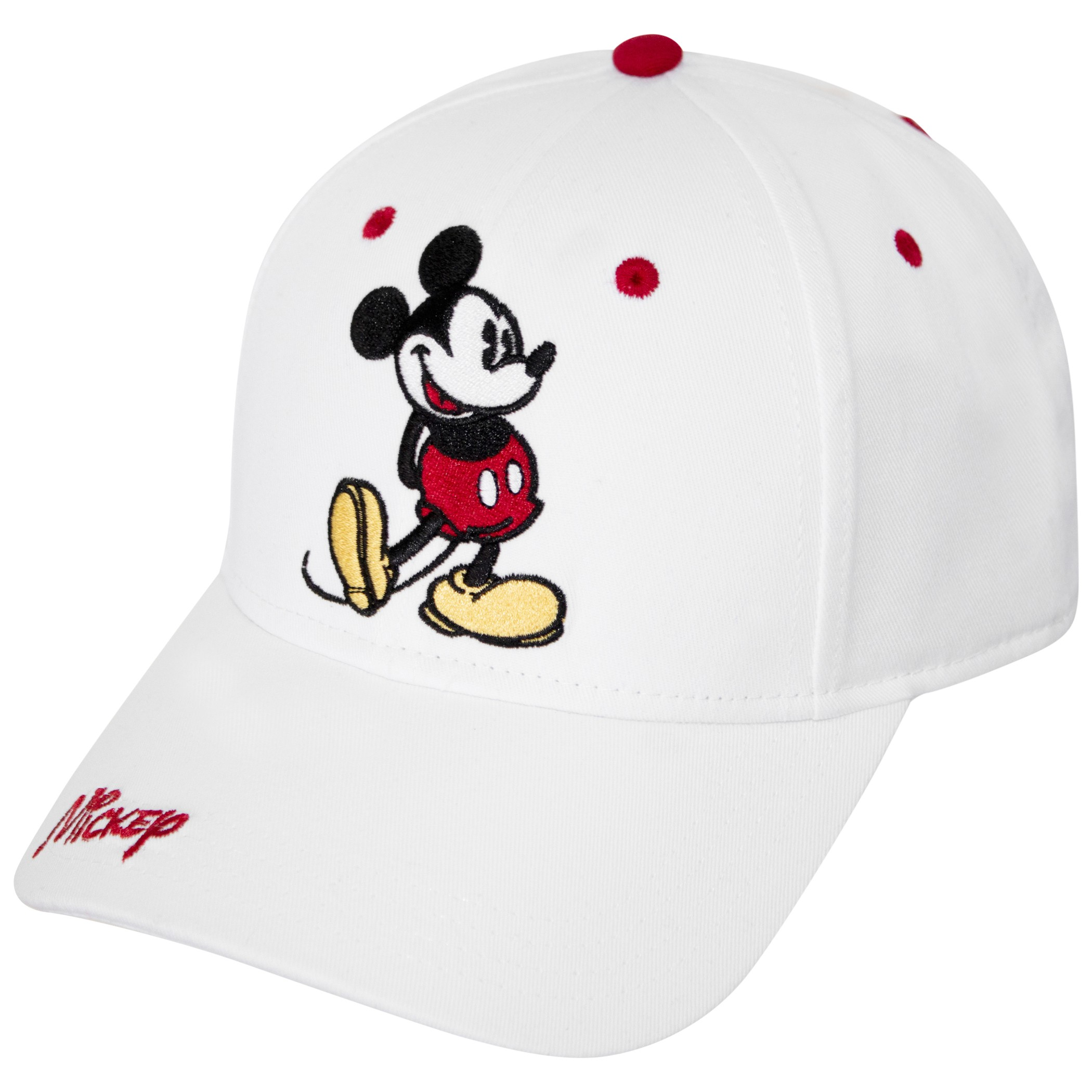 Mickey Mouse Pose White Hat