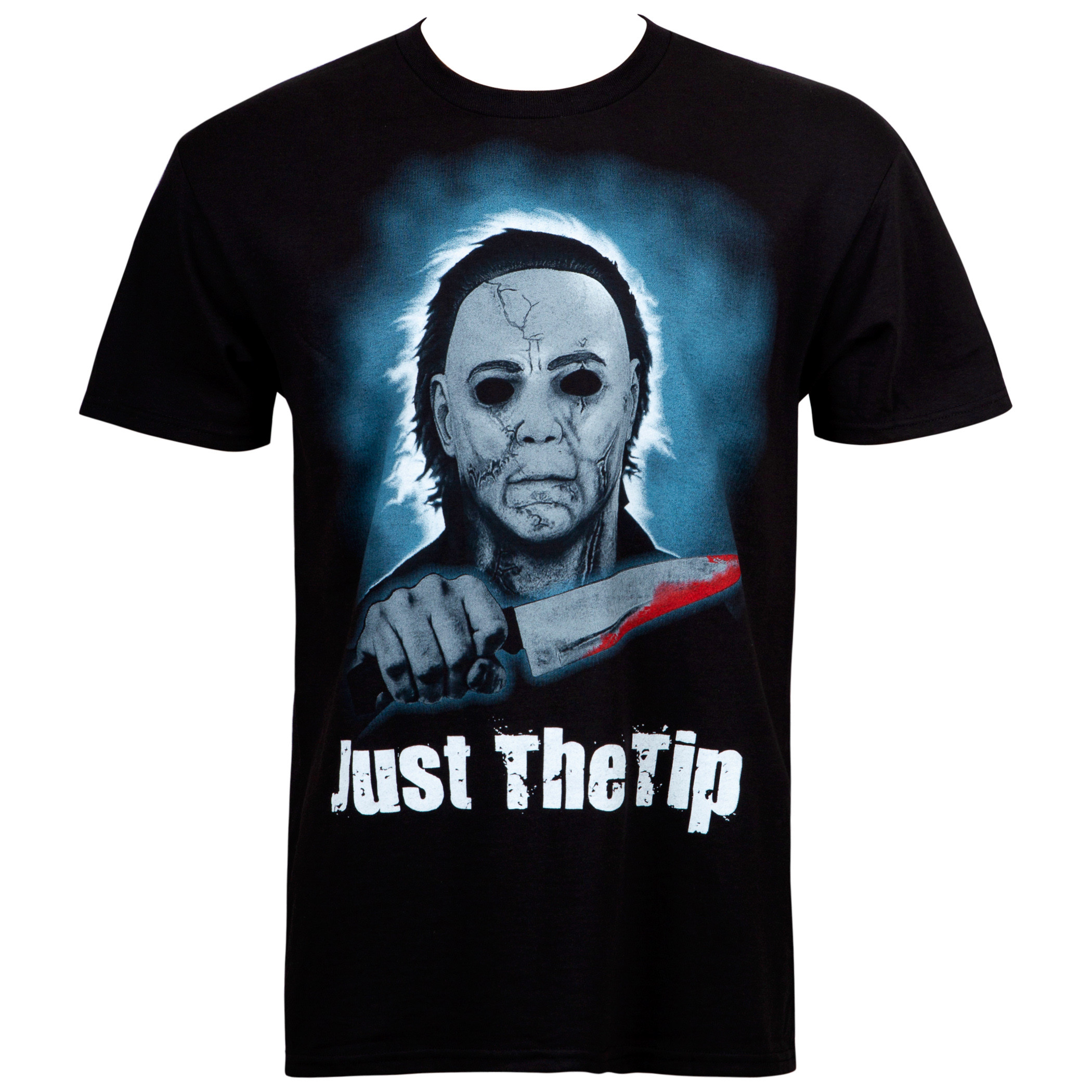 Halloween Just The Tip Men's Black T-Shirt