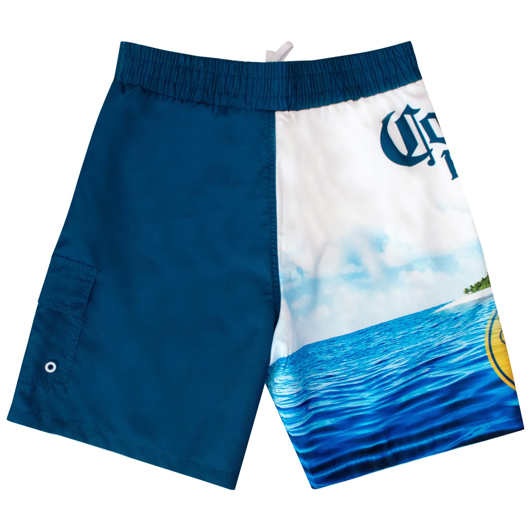 Corona Extra Beach Scene Board Shorts