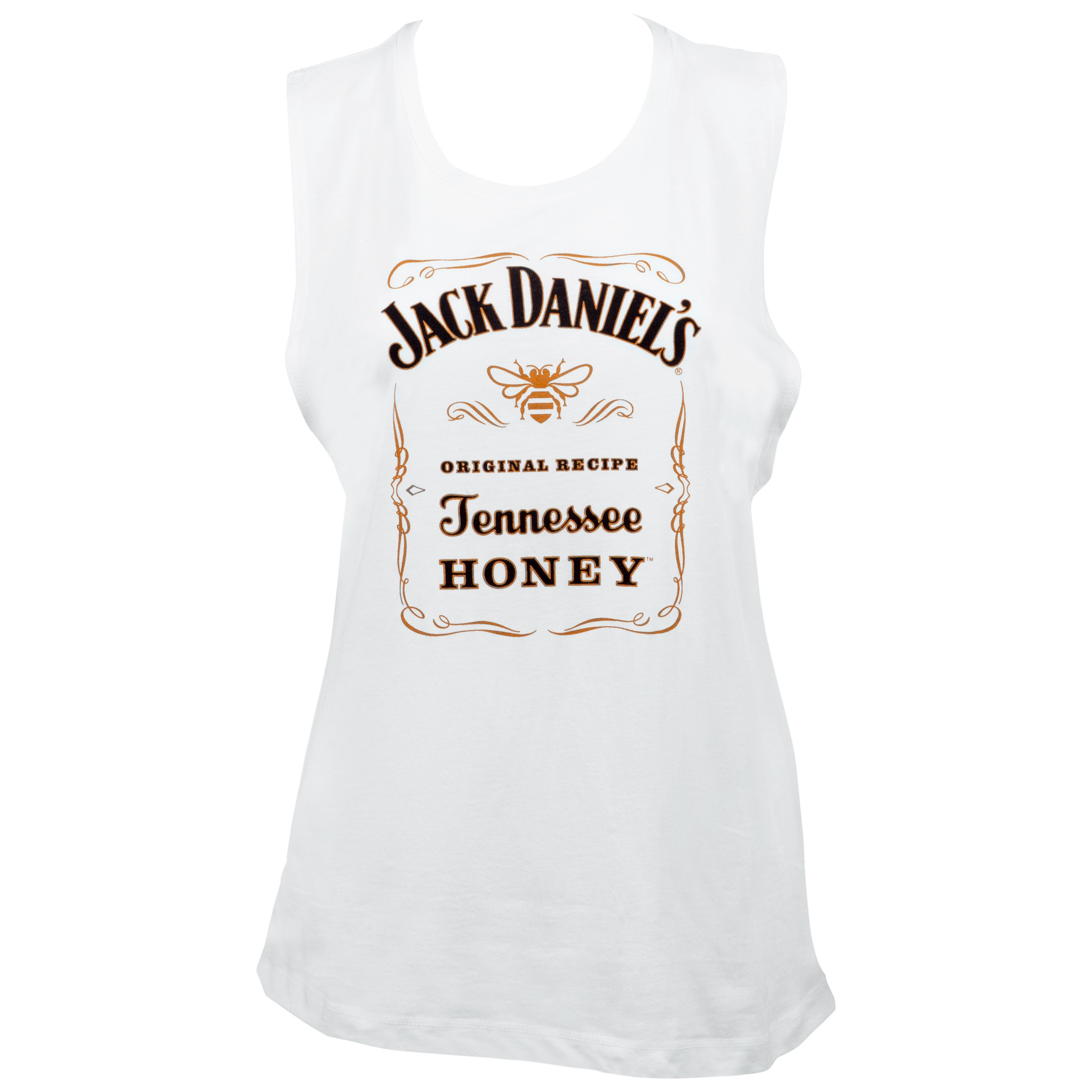 Jack Daniels Tennessee Honey Women's Muscle Tank