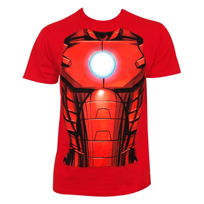 Iron Man Sublimation Costume Tee Shirt