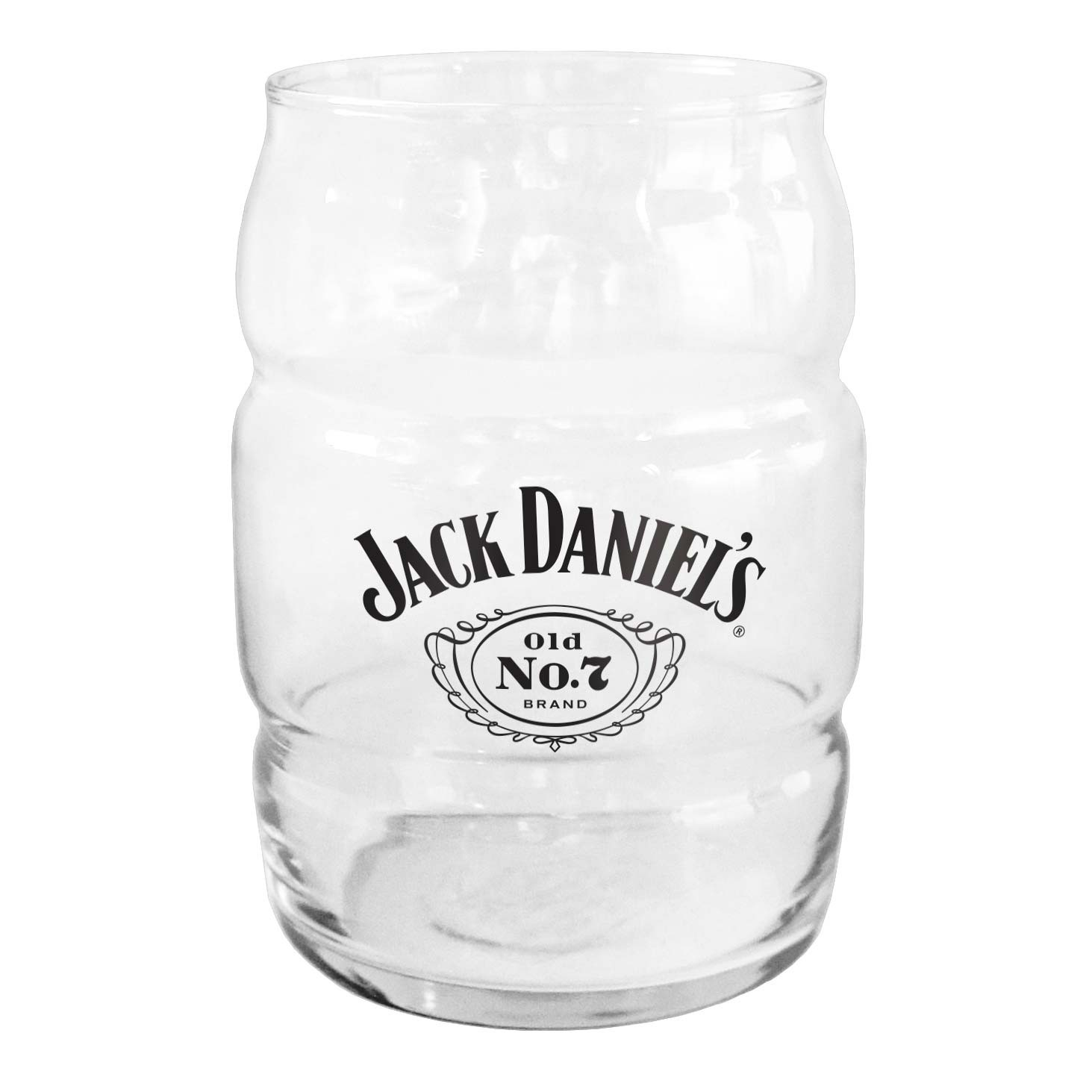Jack Daniels Barrel Pint Glass