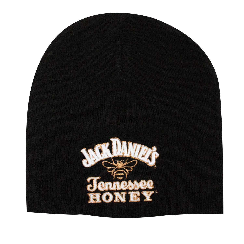 Jack Daniels Black Tennessee Honey Logo Beanie