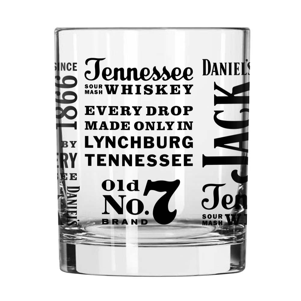 Jack Daniels Spirit Rocks Glass