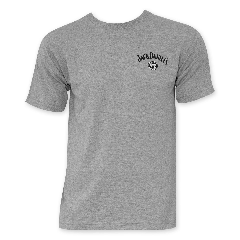 Jack Daniels Tennessee Whiskey Light Grey T-Shirt
