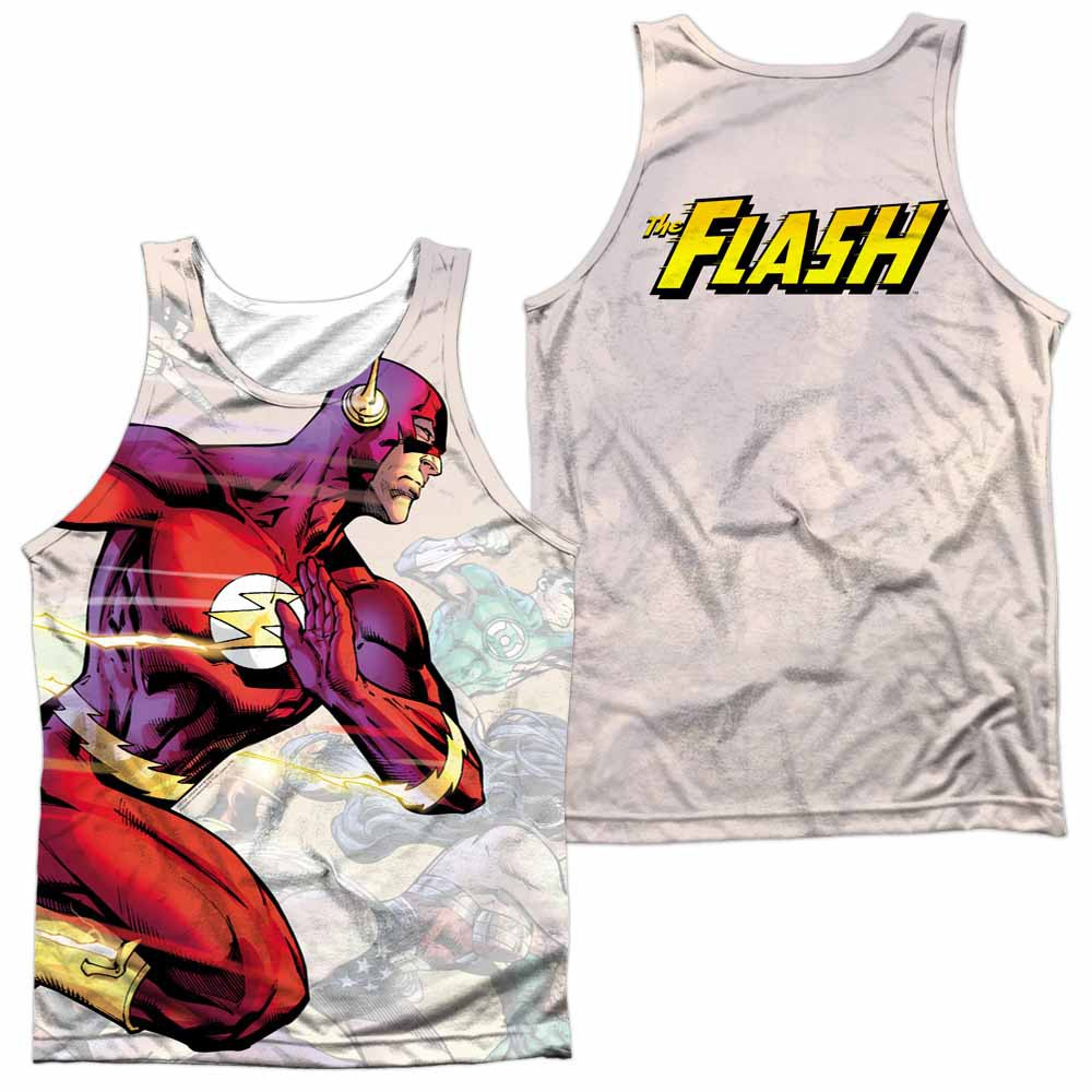 The Flash Taking The Lead Sublimation Tank Top