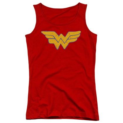 Wonder Woman Comic Logo Women's Tank Top