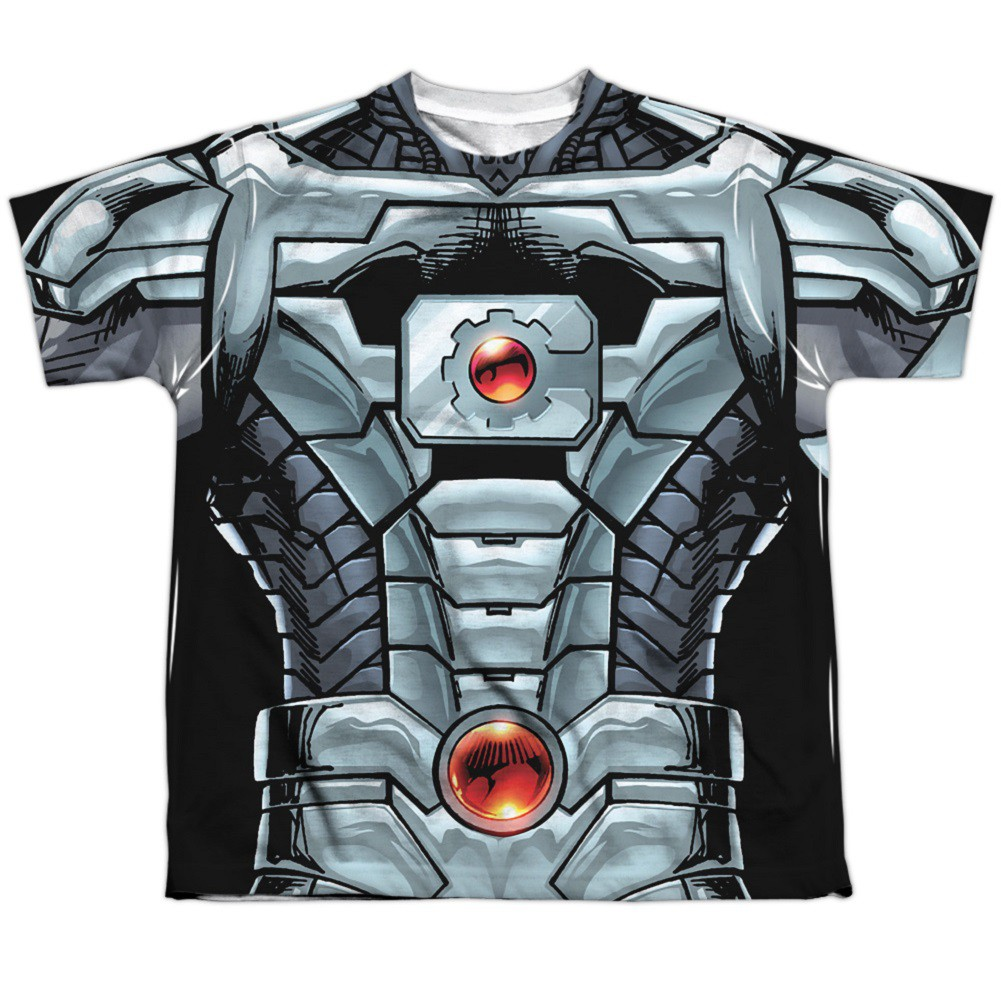 Justice League Cyborg Youth Costume Tee