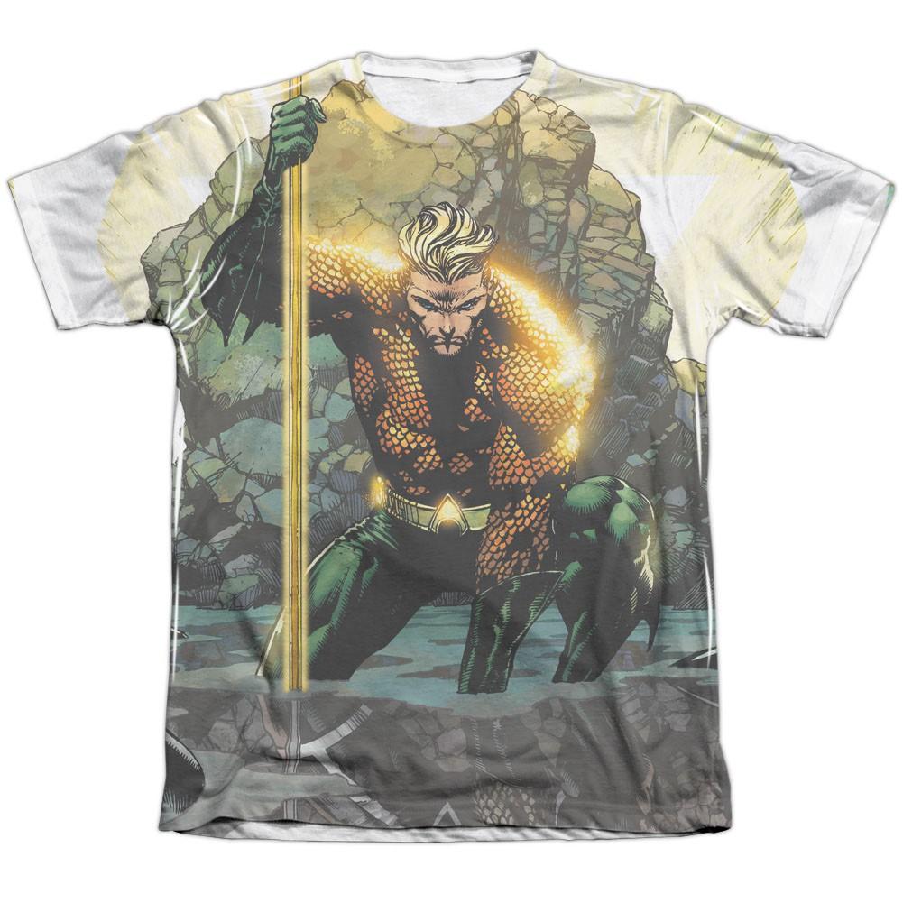 Aquaman Good Vs  Evil Sublimation T-Shirt