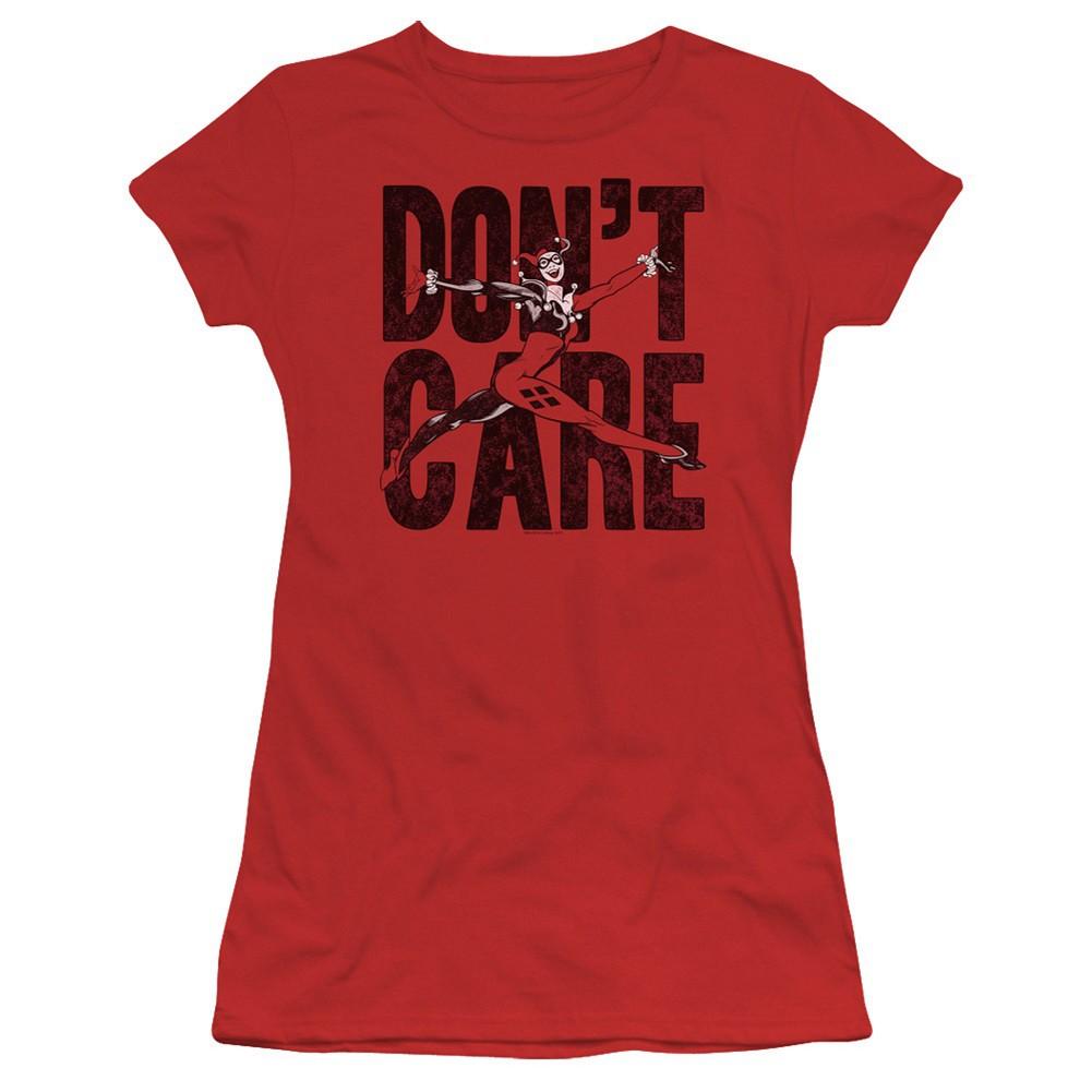 Harley Quinn Don't Care Women's Tshirt