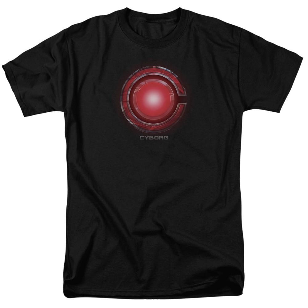 Justice League Cyborg Logo Tshirt