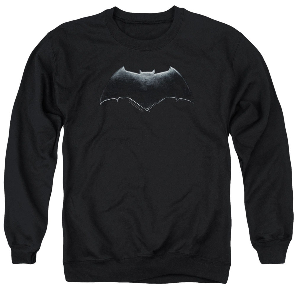 Batman Logo Justice League Crewneck Sweatshirt