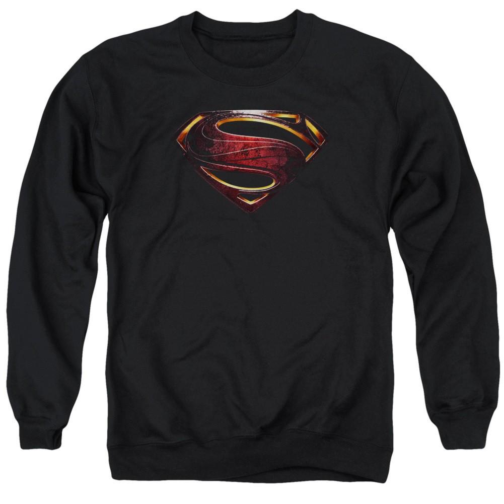 Superman Logo Justice League Crewneck Sweatshirt